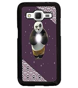 PrintDhaba Panda D-3874 Back Case Cover for SAMSUNG GALAXY CORE PRIME (Multi-Coloured)