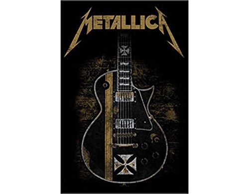 Metallica Hetfield Guitar Poster in tessuto / Flag