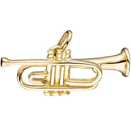 Dreambase-Damen-Anhnger-Motiv-Trompete-Hhe-ca-89-mm-8-Karat-333-Gelbgold