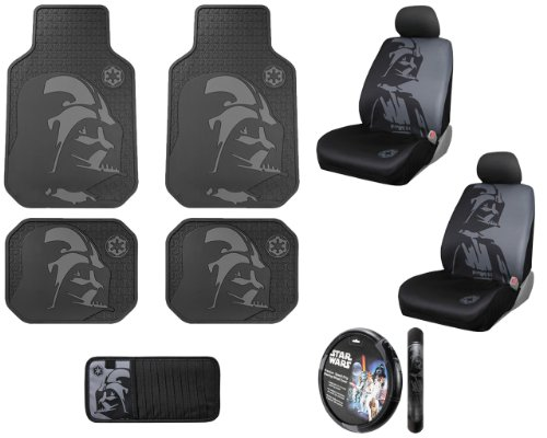 Empire Car Covers: Star Wars Darth Vader With Galactic Empire Logo Front