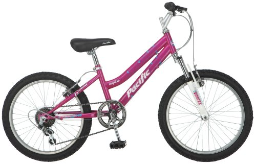 Pacific Girl's Exploit Mountain Bike, Pink, One Size