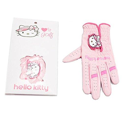 hello-kitty-mesdames-gant-de-golf-main-gauche-rose-moyen