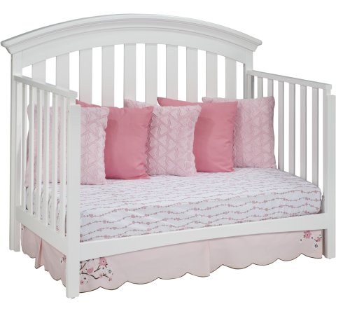 Delta Children Bentley 4 In 1 Crib White Furniture