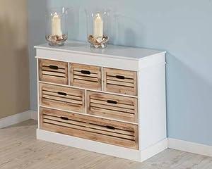 ... Kommode Schrank Sideboard Lowboard Regal Holz Weiß on Pinterest