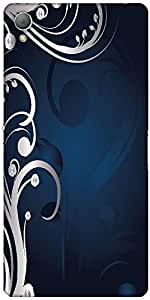 Snoogg Abstract Background Designer Protective Back Case Cover For Sony Xperi...