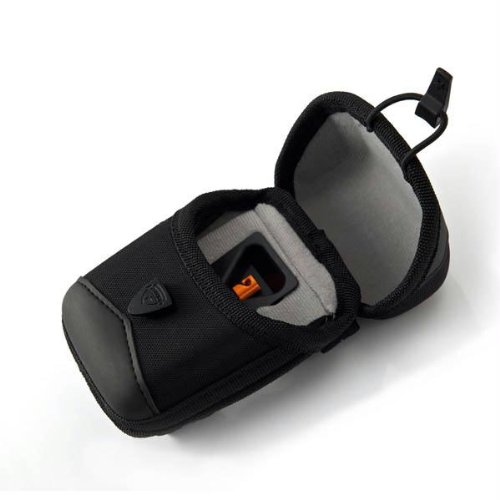 T-Reign Rigid Nylon Case With Retractable Gear Tether (Small, Black)