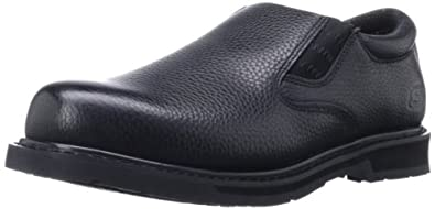 Skechers for Work Men's Exalt Closer Work Shoe,Black,6.5 M US