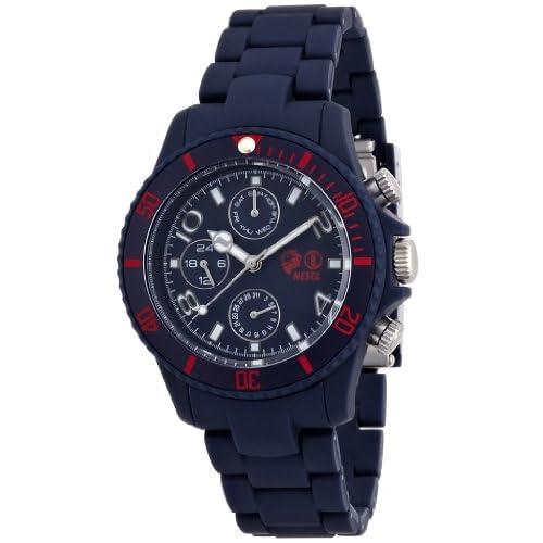 [ネスタブランド]NESTA BRAND 腕時計 ソウルマスター ネイビー文字盤 ポリカーボネイトケース ポリカーボネイトベルト クロノグラフ SMP40NB メンズ