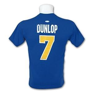 *Slapshot* Charlestown Chiefs Reg Dunlop T-Shirt (Blue)