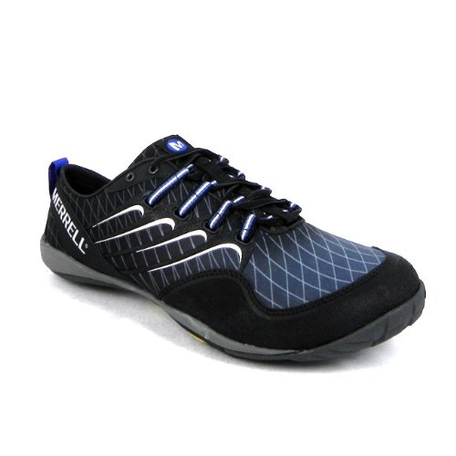 Merrell Sonic Glove Mens Vibram Barefoot Running Fabric Trainers - Black