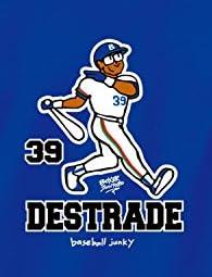 (ベースボールジャンキー)Baseball Junky デストラーデ(BOXER JUNTARO) 半袖TEE BBJ16107 57 ブルー L