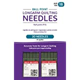 Handi Quilter Longarm Quilting Needles - Ball Point (FG) Size 18 (Pack of 20)