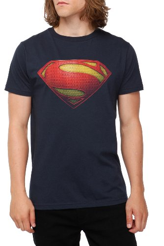 DC Comics Superman Man Of Steel Logo T-Shirt