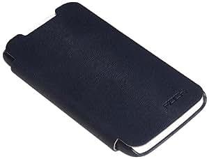 Rock Big City Leather Case Side Flip for HTC One X (Dark Blue)