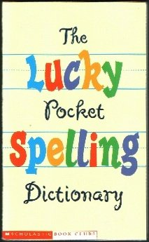 The lucky pocket spelling dictionary, AMY LEVIN