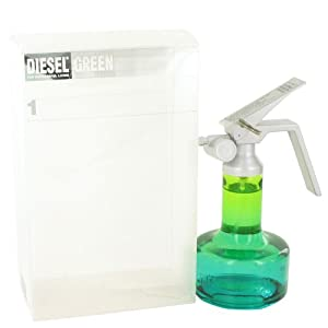 Diesel Green by Diesel Eau De Toilette Spray 2.5 oz / 75 ml for Men + Light Blue by Dolce & Gabbana Vial (Sample) .06 oz for Men