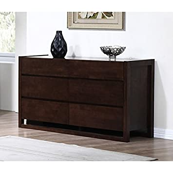 Sava Wenge 6-drawer Tall Dresser