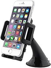 Aukey® Supporto Auto / Porta Cellulare Universale / Supporto con ventosa per iPhone 5/4s/4, Samsung Galaxy s4, Smartphone, Navigatore GPS ed altri dispositivi di Larghezza 5 cm - 10 cm, Regolabile con rotazione 360°