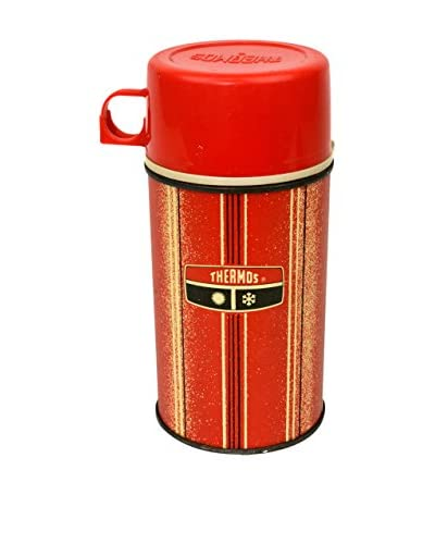 Uptown Down Vintage Thermos, Red