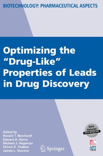 "Optimizing The ""Drug-Like"" Properties Of Leads In Drug Discovery (Biotechnology: Pharmaceutical Aspects)"