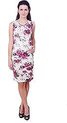 Shree Balaji Women's Dress (sb-19_Floral Print_Large)