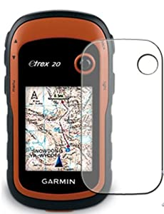 6 x Clear Screen Protectors for Garmin eTrex 20 / 30 - Anti-Scratch LCD Guards / Display Savers
