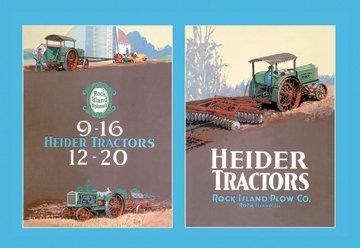 Heider Tractors 20X30 Poster Paper