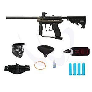 Buy Spyder Kingman 2012 MR100 Olive Paintball Marker HPA N2 Player Package