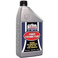 Lucas Oil 10824-12PK Power Steering Fluid - 1 Quart, (Pack of 12) from Lucas Oil