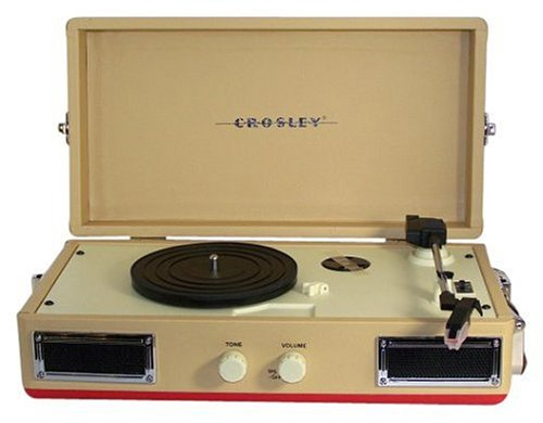 Crosley CR40 Mini-Turntable (Red)