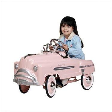 American Retro Pretty In Pink Pedal Sedan