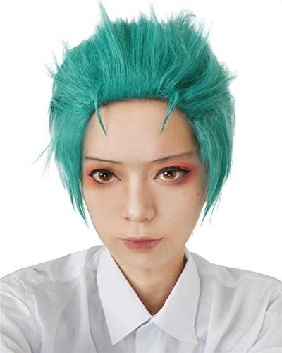 Nouqi® Men's Anime Short Straight Costumes Hairs Cosplay Wigs