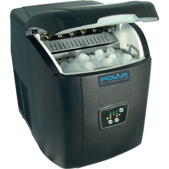 Polar Counter Top Ice Maker Bin 1kg, water tank 2 ltr