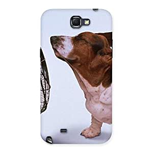 Impressive Dog Fan Back Case Cover for Galaxy Note 2