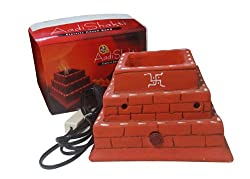 Aadi Shakti portable handmade Electric Havan Kund for daily puja at home office and factory