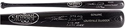 Jim Thome Philadelphia Phillies Autographed Louisville Slugger Black Bat with Multiple Inscriptions - Fanatics Authentic Certified