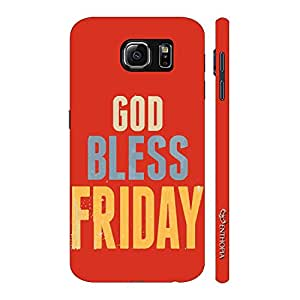 Enthopia Designer Hardshell Case God Bless Friday Back Cover for Samsung Galaxy Note 6