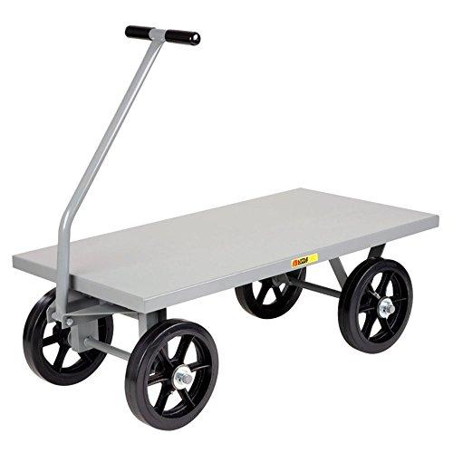 little-giant-heavy-duty-flush-deck-wagon-carro-12-x-25-in-mold-on-ruedas-de-goma