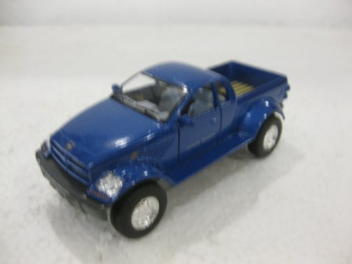 Dodge Power Wagon In Blue Diecast 1:42 Scale By Kinsmart