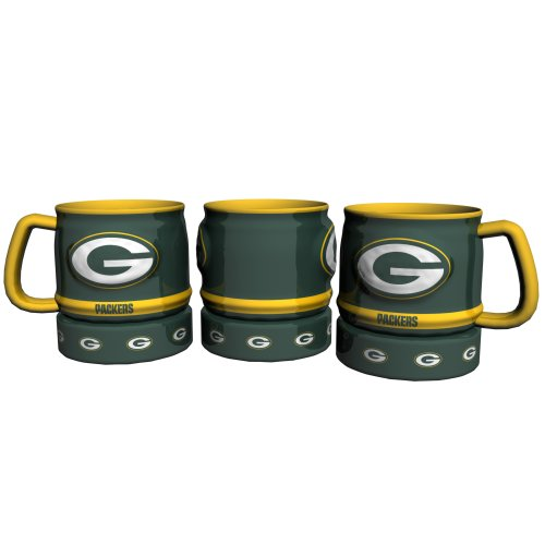 Green Bay Packers Barrel Mug by Boelter Brands