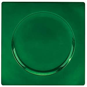 Tabletop Classics Square Green Charger Plates Pkg/24 TR-6665
