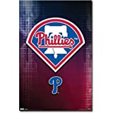 (22x34) Philadelphia Phillies (Logo) Sports Poster Print