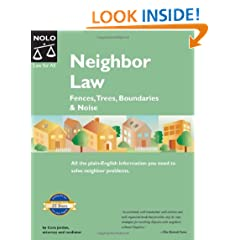 Neighbor Law: Fences, Trees, Boundaries & Noise (5th edition)