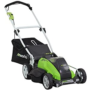 GreenWorks 25292 40-Volt 4 Amp-Hour Lithium Ion 19-Inch Lawn Mower from Sunrise Global Marketing, LLC