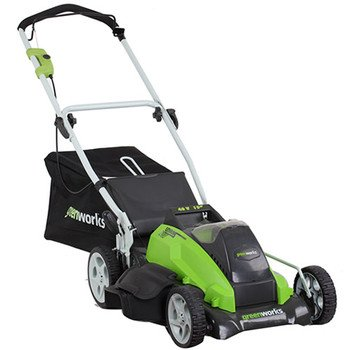Greenworks 25292 40-Volt 4 Amp-Hour Lithium Ion 19-Inch Lawn Mower (Discontinued By Manufacturer)