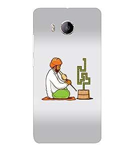 EPICCASE Snake charmers Mobile Back Case Cover For VIVO X shot (Designer Case)