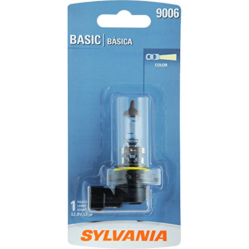 SYLVANIA 9006 Basic Halogen Headlight Bulb, (Contains 1 Bulb) (Headlight Bulbs Lexus Is250 compare prices)