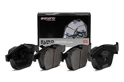 Akebono Eur1239 Euro Ultra-Premium Ceramic Brake Pad Set
