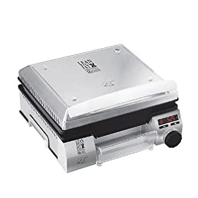 George Foreman GFSG80 Super Searing Grill, Stainless Steel