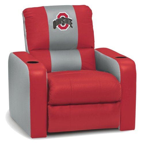 Ohio State Leather Recliner